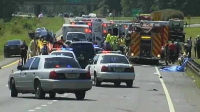 Vigil Held For 4 Students Killed In Crash