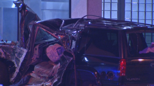Driver Ejected, Killed After Car Crashes Into SEPTA Station