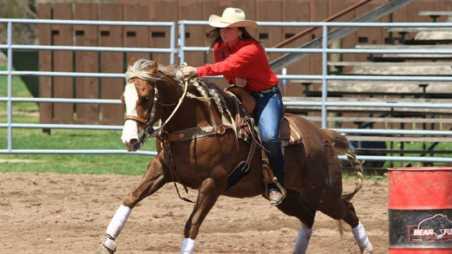 Pa. Girl Becomes Cowgirl at National Rodeo