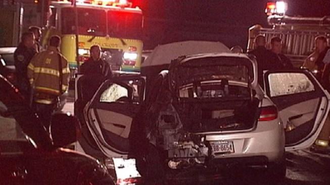 Police Investigate Suspicious Car Fire