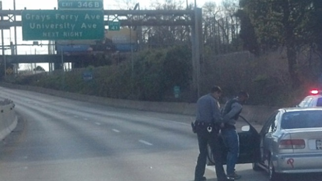 Dirt Bike Rider Arrested After I-76 Crash