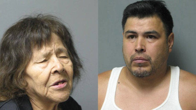 Elderly Woman, Son Charged With Dealing Heroin, Cocaine