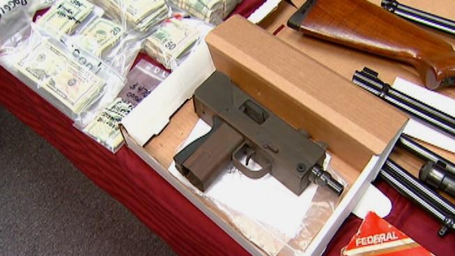 Dozens Arrested in Multi-County Drug Raids