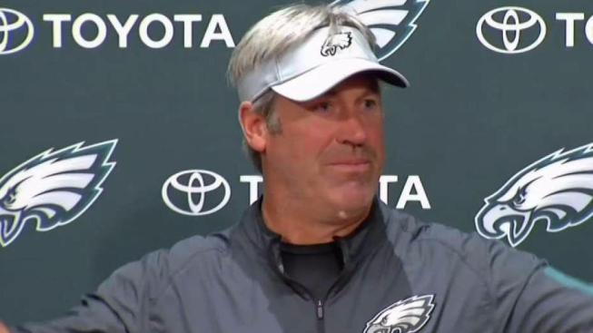82cab57ef Eagles Coach Doug Pederson Speaks
