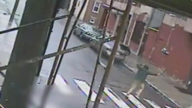 Surveillance Video of Fatal Shooting