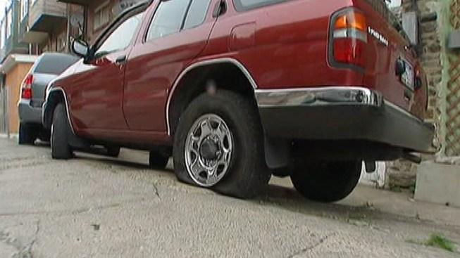 Tires Slashed in Feltonville