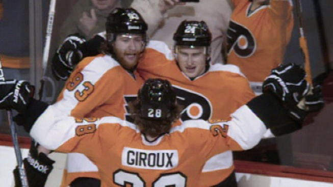 Flyers Win Final Home Game