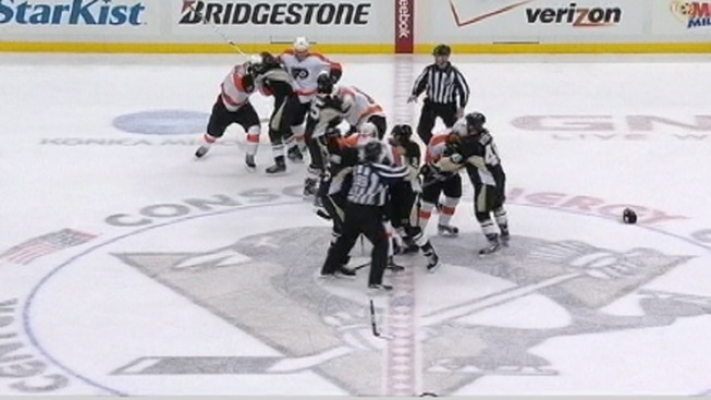 Flyers Bully Their Way Past Penguins