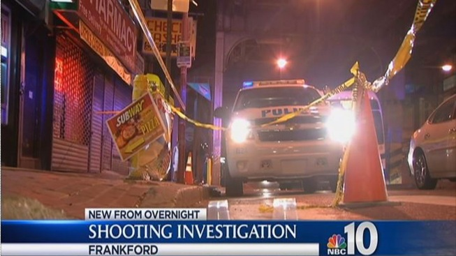 Frankford Shooting Leaves Man Critical