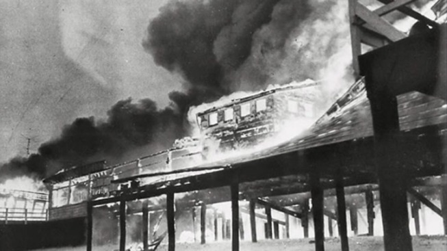 Boardwalk Fire Brings Back Memories of Devastating Seaside Blaze Nearly 60 Years Ago