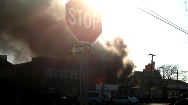 Victoria Bed And Breakfast Beach Haven Nj : Alarm fire at jersey shore bed breakfast nbc