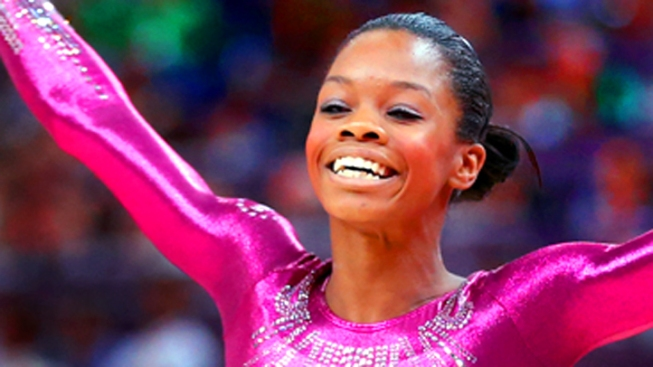 Douglas Wins Gold in Gymnastics Individual All-Around