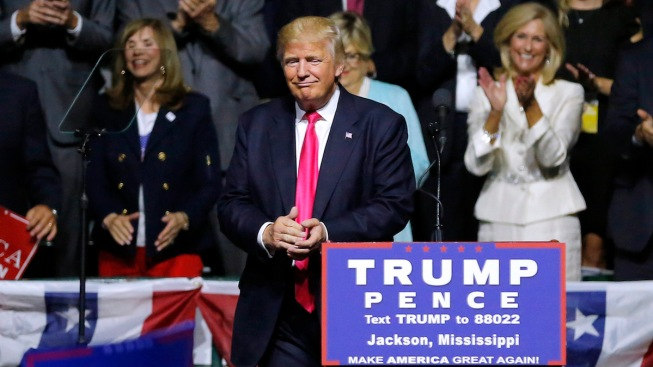 Trump's 'Bigot' Comment Shocks Supporter at Miss. Rally