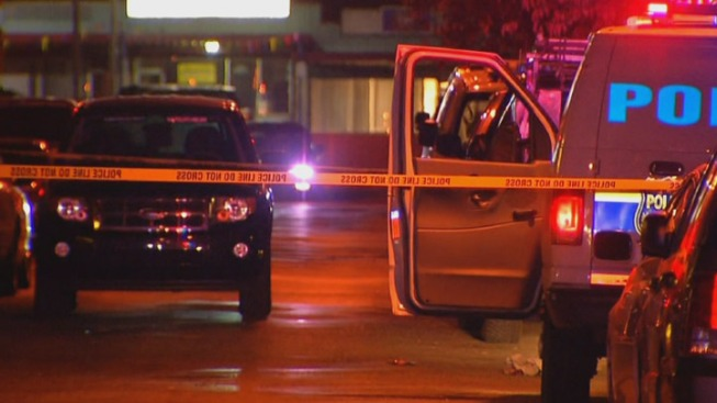 1 Dead, 1 Hurt in Shooting, Stray Bullet Hits Home