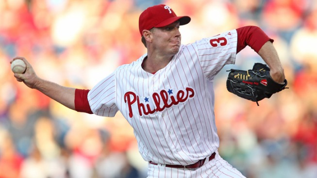 Halladay Struggles in Loss to Nats