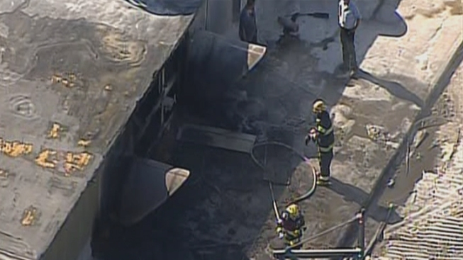 Crews Battle Blaze Involving Chemicals in Manayunk