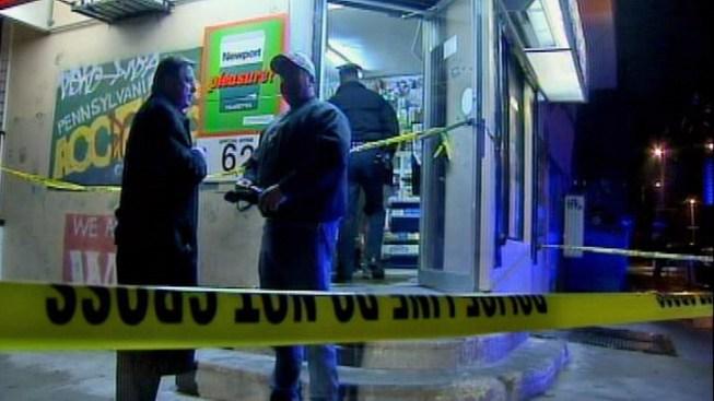Man Shot During Corner Store Hold Up