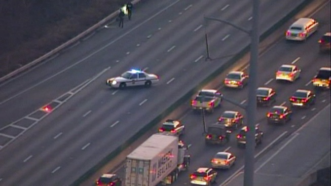 Police Chase Snarls Traffic on I-95