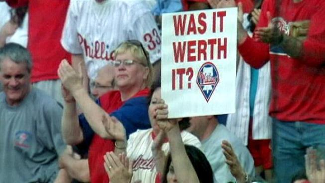 Visiting Phillies Fans Ensure Bad Karma by Mercilessly Heckling Jayson Werth