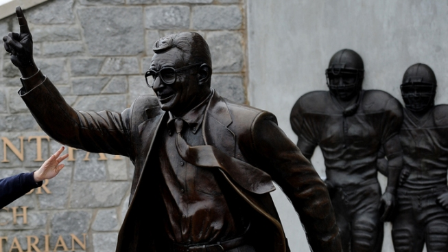 PSU Denies Reports of Paterno Statue Removal