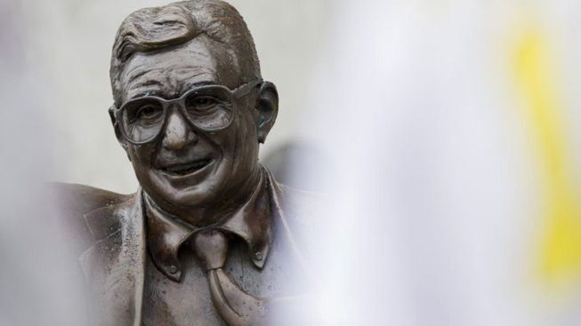 Paterno Statue Moved to Secret Location