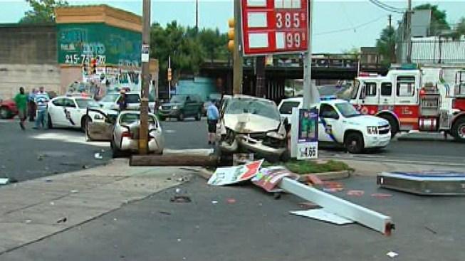 3 Injured in Wild Kensington Car Chase