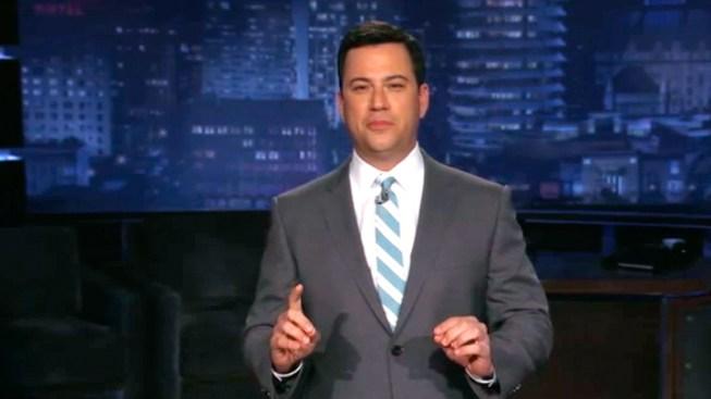 Jimmy Kimmel Mocks Biden's Bawdy Humor