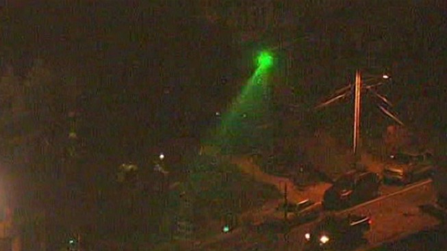 Man Accused of Pointing Laser at Chopper 10