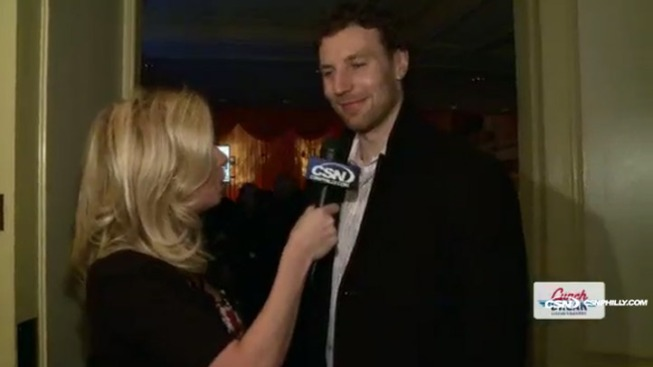 Lunch Break: Braydon Coburn