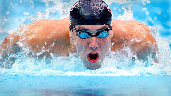 Phelps the Main Attraction at USOC Media Summit