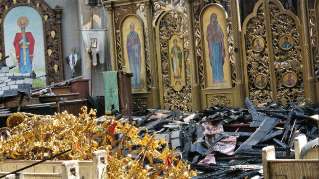 Parishioners Find Miracle in Fire at Ukrainian Orthodox Church
