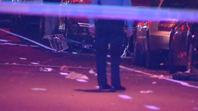 Motorcycle Crashes Into Bike, Kills 2