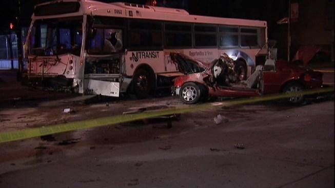 Bus Crash at Jersey Shore - NBC 10 Philadelphia