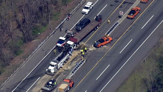 Crash Closes Nj Turnpike For 3 Hours Nbc 10 Philadelphia