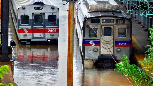 SEPTA Rail to Trenton Reopens