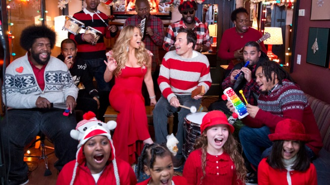 "Mariah Carey Shares What She Wants for Christmas on ""Fallon"""