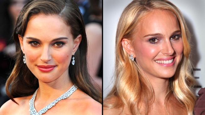Natalie Portman Goes Blond