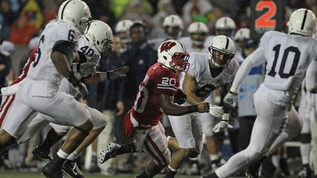 Wisconsin Badgers Top Penn State 45-7