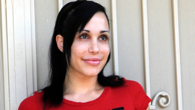 "Cash-Strapped ""Octomom"" Poses in Semi-Nude Photos"