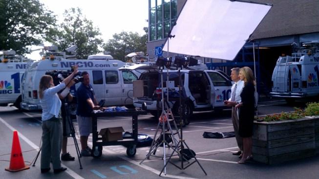NBC10 Signal Back on the Air
