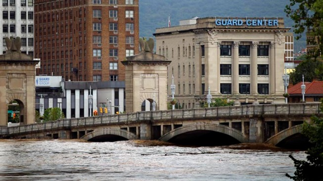 Wilkes-Barre Flooding Worse Than Agnes in 1972