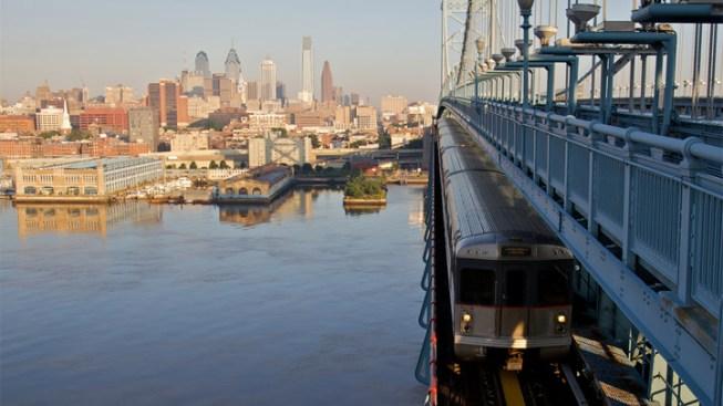 2 Arrested After Train Gets Stuck on Ben Franklin Bridge