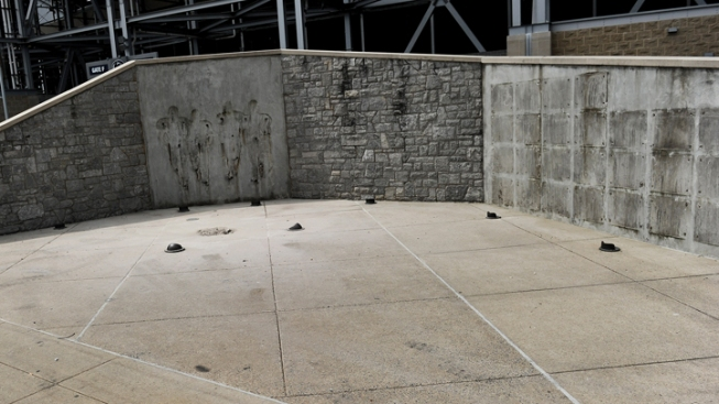 Trees Planted Where Paterno Statue Once Stood