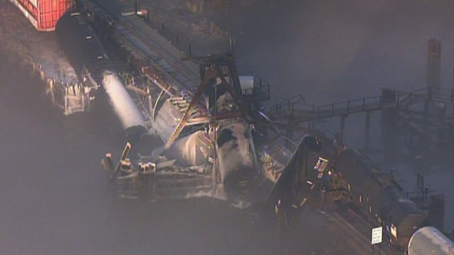 Final Tanker Removed From Derailed NJ Train