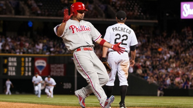Phils Snap Losing Streak, Beat Rockies