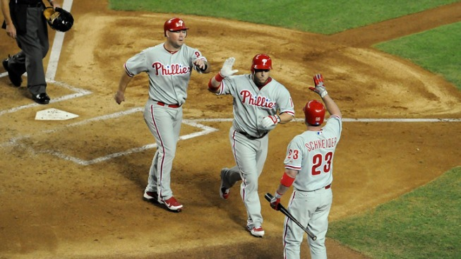 Phils Snap 3-Game Skid