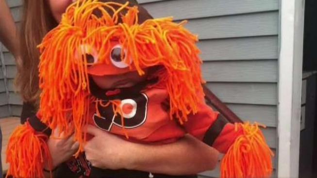 best mascot of all time flyers gritty inspires halloween baby