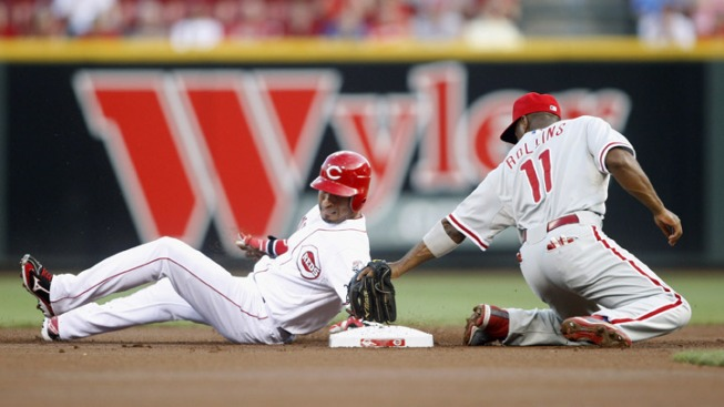 Phils Lose Heartbreaker to Reds