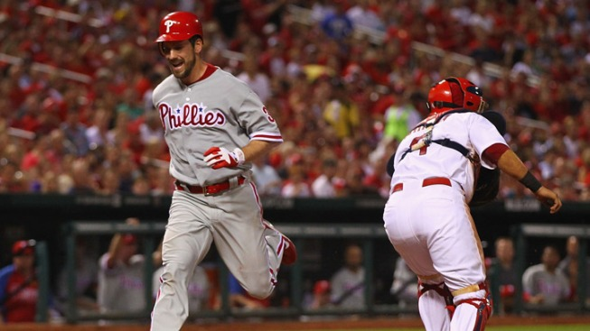Phils Soar Over Cardinals