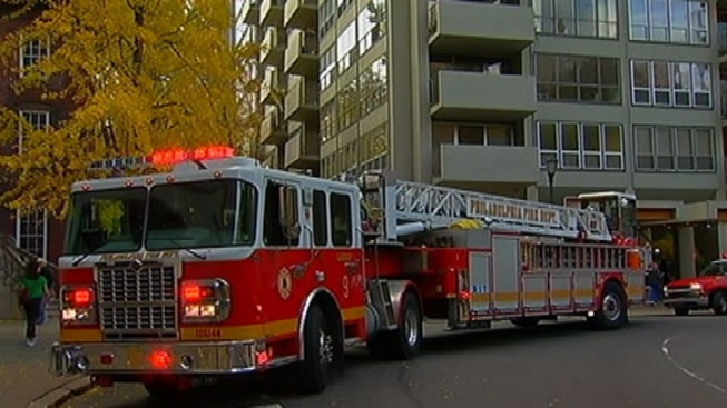 Fire Breaks Out at Rittenhouse Square High Rise